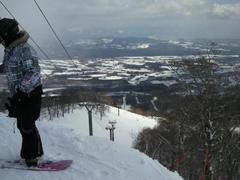 20110218雫石 金曜の夜 降雪があり 土曜はパウダー天国でした  また行きたい!!