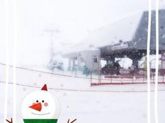 念願のXmas苗場♪ 初心者には、キツイコースのように感じましたが、雪質も良く最高の時間が過ごせました♪