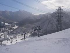 雪質もコースも最高です。