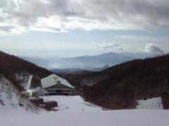 川場スキー場の頂上でダイアモンドダストを始めて見ました。 キラキラしていてとても綺麗でした。
