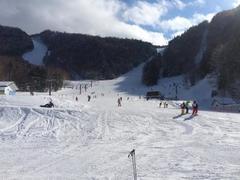 丸沼高原は関東で一番雪質がいいスキー場です。 ゴンドラで山頂から一気に滑れて上級者、初級者問わずに楽しめます。 子供連れの方はキッズゲレンデに近い駐車場に優先的に停められます。