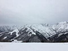 新年最初の三連休は白馬岩岳へ。もう何年も通ってますが、この時期にこの雪不足はほんとショック。上部エリアを中心に滑りましたが、なかなか手強かったです。こういう状態だからかもしれませんが、ガラガラでリフト待ちがなかったのはよかったです。