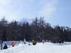 妙高山の山頂が顔を覗かせた。