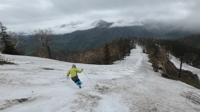 大雪山黒岳の写真