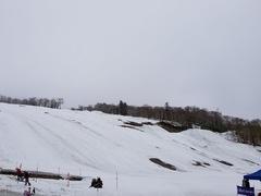 小雨?頂上は雪の中山峠。 寒い寒い。このせいか、まぁ空いてること。 くるくる回して13本。 2時間滑っておわりー コブラーさんたちがいなくて11時段階では前のコブがほんのりあっただけ。 明日はコブ掘れるのかなぁ  途中ICI石井で試乗会やってたので借りて遊んでました。 一番気に入ったのはスタッフさん(デモ)オススメの FISCHER RC4 THE CURV DTX SIDECUT121-72-106 LENGTH164  キャンバーで抜けよく 食いつきクイック んで、軽いのに張りある。私の脚力と体重とスキルでちょうどいい!これきにいったーーーー。  あとは前履いたことあるやつかな。  今日は逆らわずに乗る 素直に乗ること意識しました。 相方が。上手くなったねーって褒めてくれた。 うれしーーなーーー  もう少しで乗れなくなるのでちゃんと覚えておこう。 パークの雪山崩して伸ばしてました。明日は中山峠最終日。 晴れ予報です!ジンパやるよーー